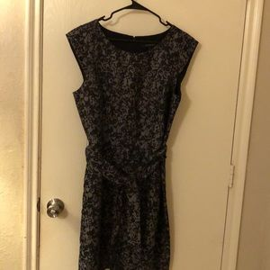 Beautiful dress black with gray